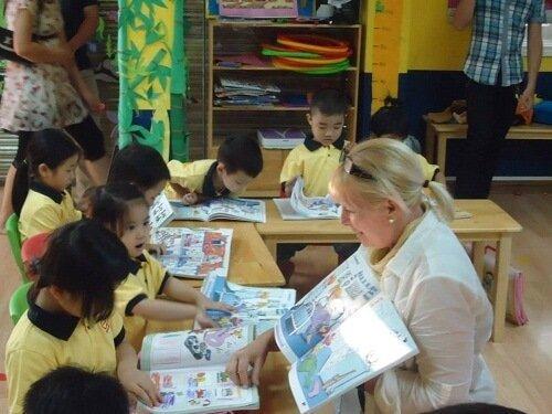 Phương pháp hiệu quả dạy tiếng anh cho trẻ mẫu giáo