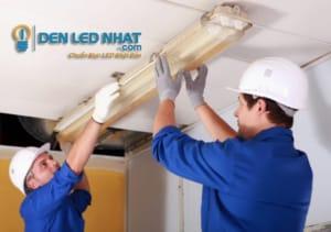Lắp đặt đèn tuýp LED Humitsu nhanh và an toàn