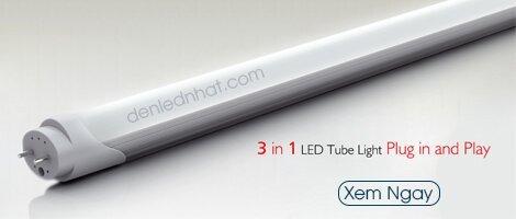 Đèn tuýp led Humitsu nhập khẩu nguyên chiếc từ Nhật bản cho anh sáng trung thực, siêu sáng, siêu bền và tiết kiệm điện đích thực.