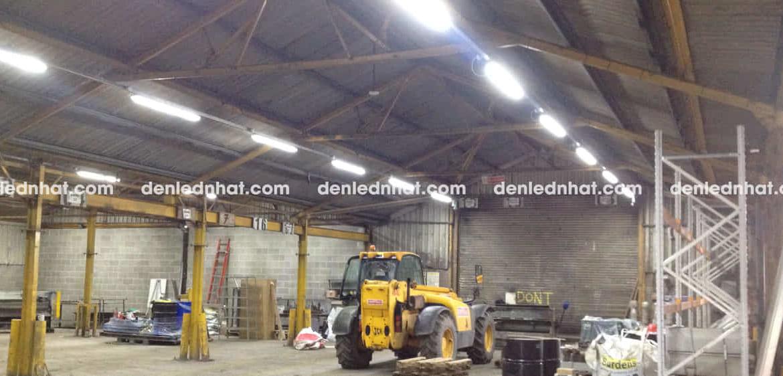 Hình ảnh: đèn tuýp LED Humitsu chiếu sáng nhà máy đá tự nhiên