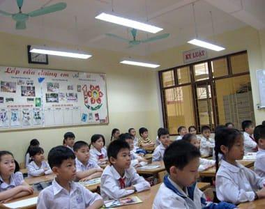 Đèn led tuýp cho phòng học của trẻ