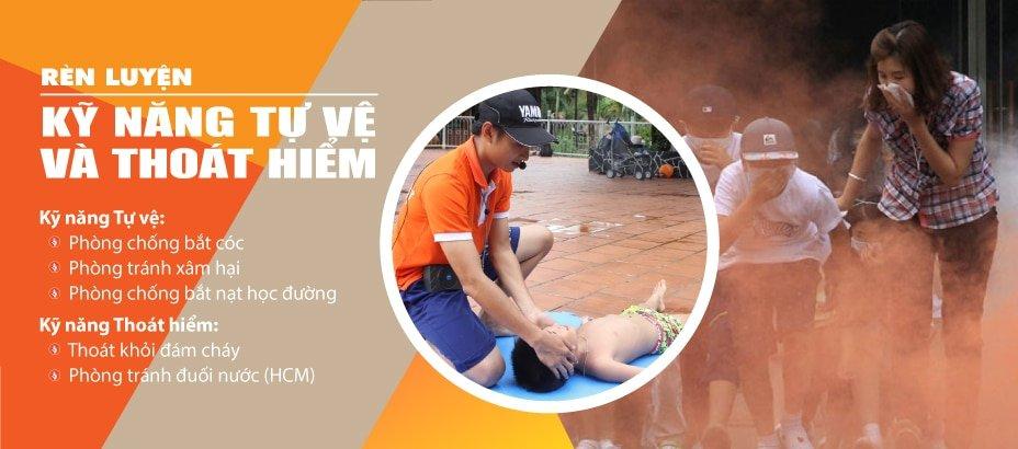 Rèn luyện kỹ năng tự vệ và thoát hiểm sẽ giúp các em an toàn và tự tin xử lý những tình huống bất ngờ.