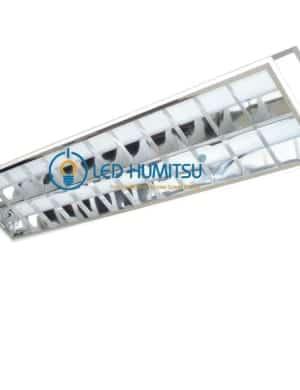 Máng đèn xương cá âm trần 1m2