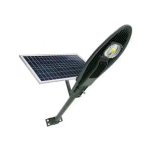 Đèn đường năng lượng mặt trời 50W (hình lá)