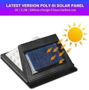 Đèn ốp tường năng lượng mặt trời - L40 LED