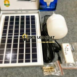 Bộ đèn led tròn năng lượng mặt trời 40W
