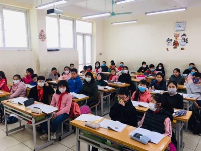 Đèn chiếu sáng cho lớp học