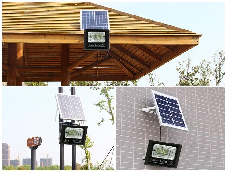 Hướng dẫn lắp đặt đèn pha năng lượng mặt trời