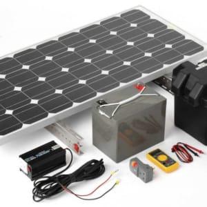hệ thống pin năng lượng mặt trời