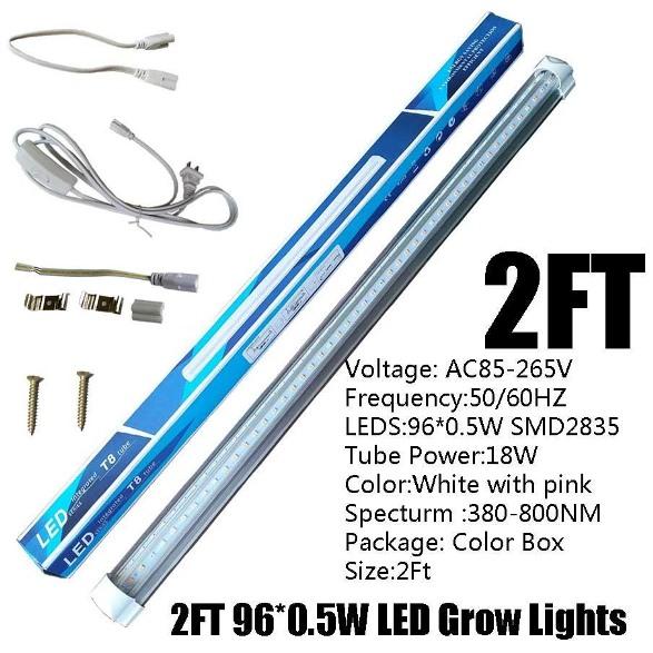Hình ảnh sản phẩm: Đèn Tube LED trồng rau chuyên dụng tại nhà
