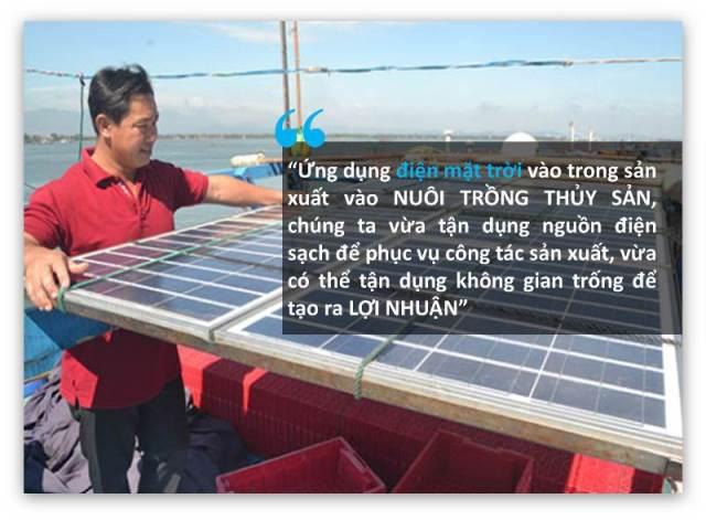Nuôi tôm kết hợp điện mặt trời
